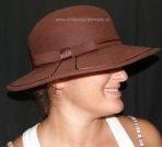 Filcový klobouk č.4380