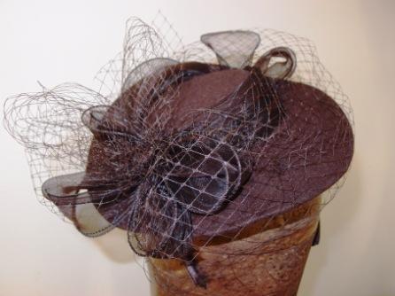 Filcový klobouček č.5482