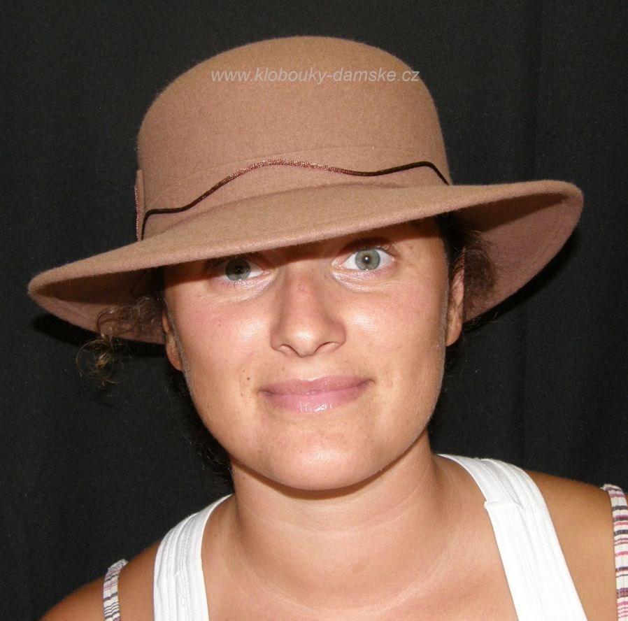 Filcový klobouk č.4381