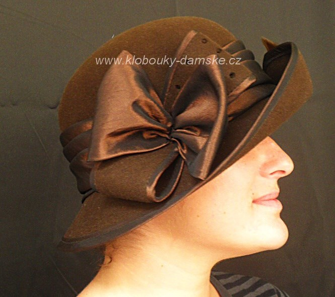 Filcový klobouk č.4252