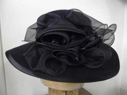 Filcový klobouk č.6843  8d1da9df12