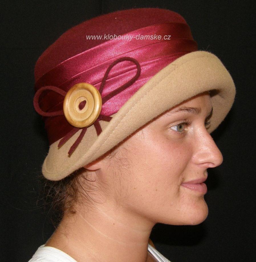 Filcový klobouk č.4328