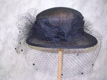 Smuteční klobouk  č.4110
