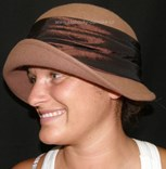 Filcový klobouk č.4387