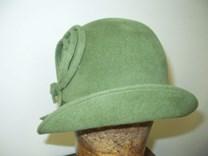 Velurový klobouk č.7992