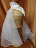 Svatební špička se závojem