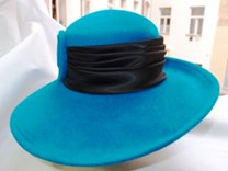 Filcový klobouk č.6365