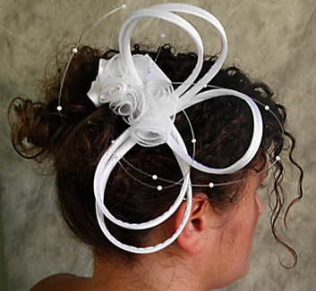 Svatební ozdoba do vlasů č.3968