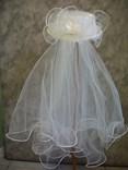 Klobouk svatební č.3986
