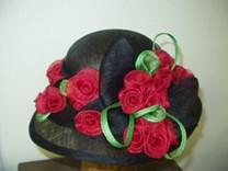 Extravagantní letní klobouk č.5133
