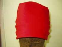 Sametový vázací šátek číslo 4107