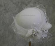 Svatební klobouk č.4606