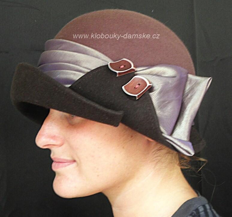 Filcový klobouk č.4257