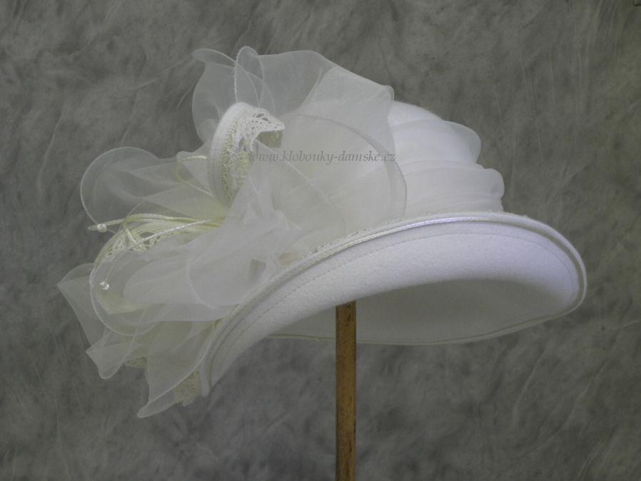 Svatební klobouk č.4605