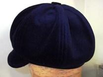 Sametová čepice č.5240