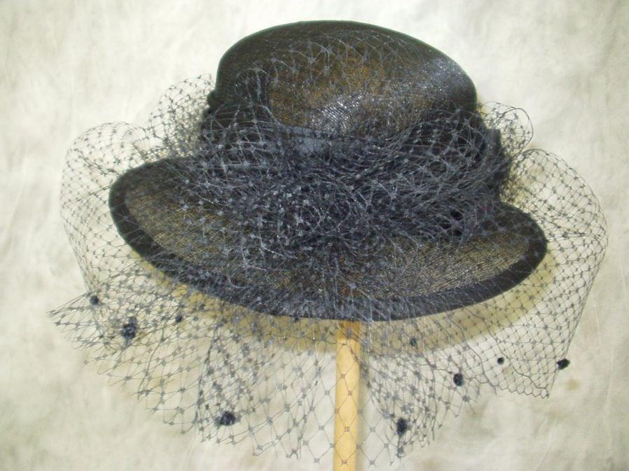 6f46612b54e Smuteční klobouk číslo 4110