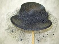 Smuteční klobouk  číslo 4110