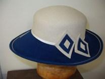 Velurový klobouk č.8006