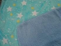Kojenecká deka modrá