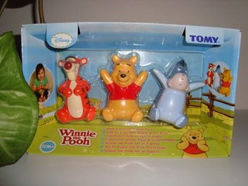 Figurky Medvídek Pú a jeho kamarádi