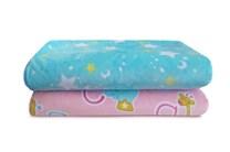 Nová oboustranná kojenecká deka s kožíškem