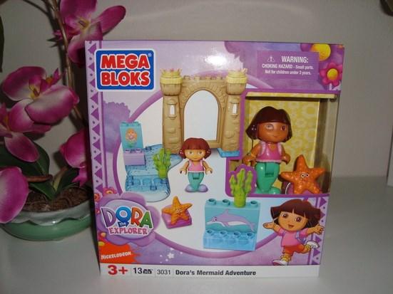 Megabloks DORA a její podmořské dobrodružství