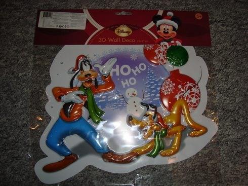 VÁNOCE - 3D dekorace originál Walt Disney