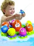 Veselé chobotničky do vany