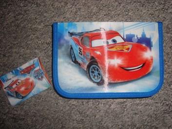 NOVÝ školní super penál s chlopní Cars od Disney