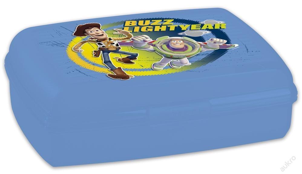 Krabička, box na svačinu Toy Story, modrá, 1,3 l