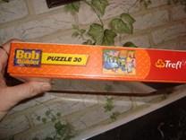 Puzzle Bořek stavitel, 30 dílů