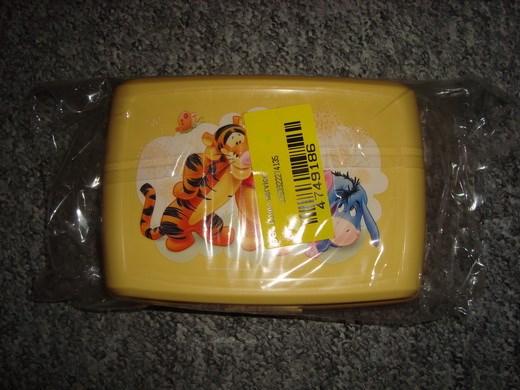 Krabička, box na svačinu Medvídek Pú, žlutá, 1,3 l