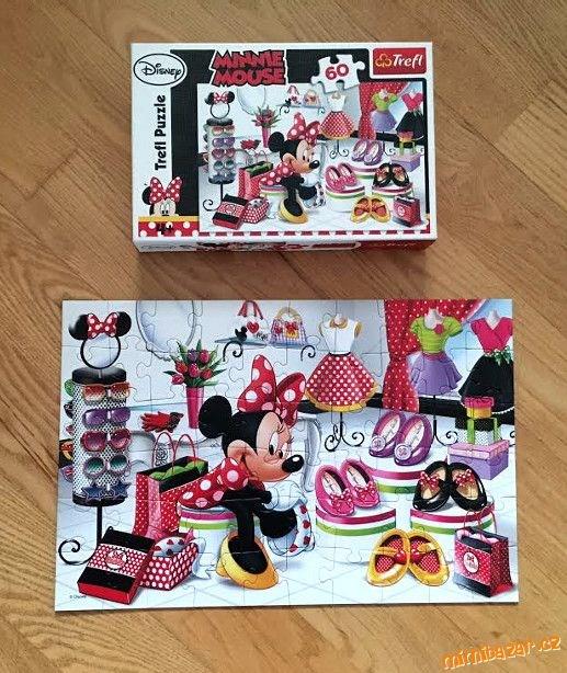 Puzzle Minnie Mouse, 60 dílů, originál Disney