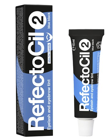 RefectoCil barva na řasy a obočí 2 modročerná 15ml