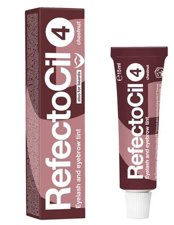 RefectoCil barva na řasy a obočí 4 kaštanová 15 ml