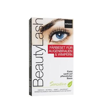 BeautyLash Sensitive Set barva na řasy černá 3,5ml