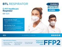 Respirátor třídy FFP2