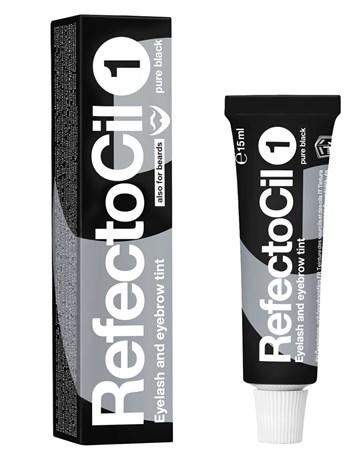 RefectoCil barva na řasy a obočí 1 černá 15 ml