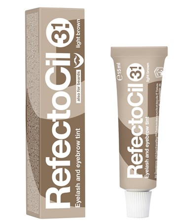 RefectoCil barva na řasy a obočí 3.1 sv.hnědá 15ml
