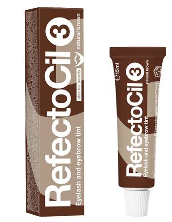 RefectoCil barva na řasy a obočí 3 hnědá 15 ml