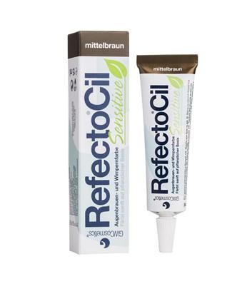 RefectoCil Sensitive barva na řasy stř.hnědá 15 ml
