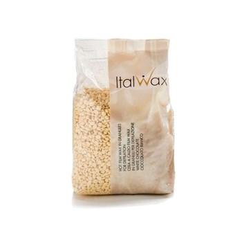 Italwax filmwax zrnka vosku WHITE CHOCOLATE 1 kg