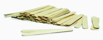 Špachtle dřevěná (100 ks)