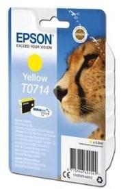 Epson Stylus DX78 DX4000 žlutá T0714