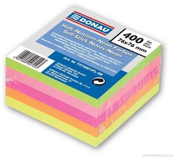 Bloček POST-IT 76*76/400 neon donau
