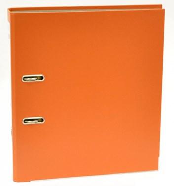 Pořadač A4 pákový umělý šířka hřbetu 7cm  oranžový