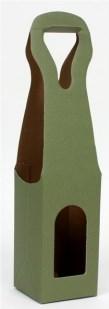 Obal na lahev karton 1 lahev Wrapco