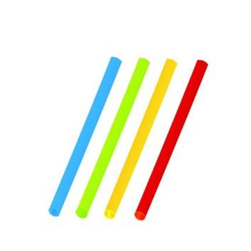 Slámky koktejlové barevné mix 13cm á30ks 66128