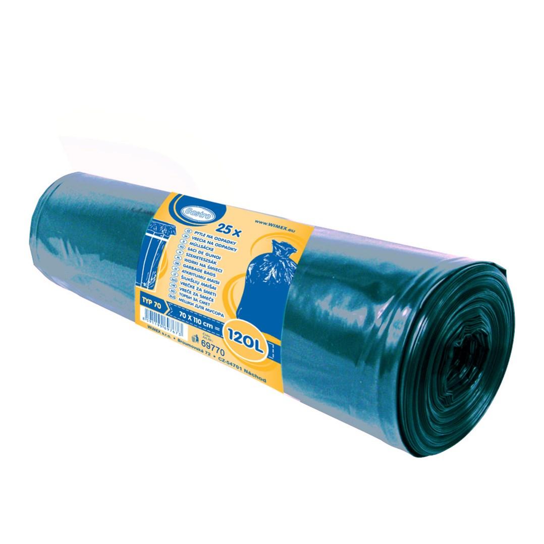 Mikrot.pytle 70*110 silné modré 70x110cm, 120 l, Typ 70  á25ks --- 69770