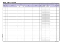 Kniha závazků a pohledávek OP008